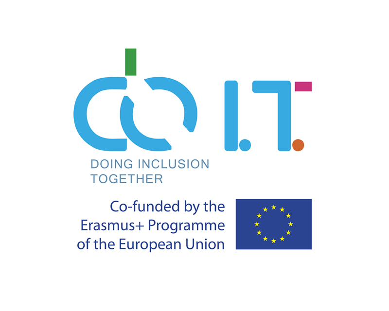 Logotipo DOIT Doing Inclusion Together